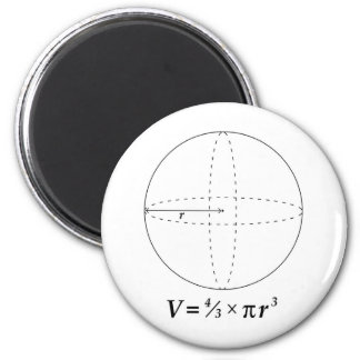 Volume of a Sphere Magnet