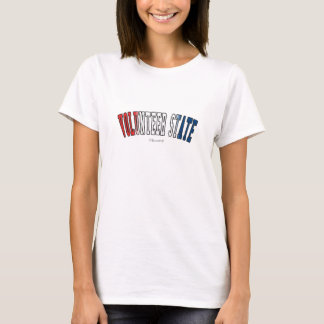 Volunteer State in state flag colors T-Shirt