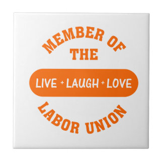 Volunteering to help others is a labor of love small square tile