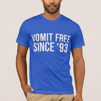 Vomit Free Since '93 T-Shirt