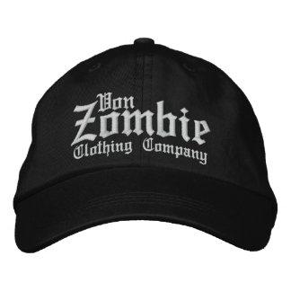 Von Zombie Skull Cap 001M Embroidered Hat