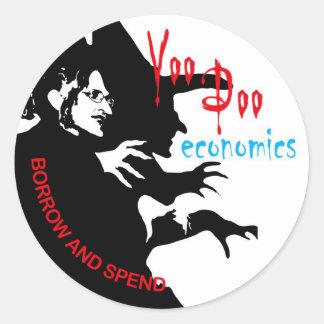 Voodoo Economics Sticker