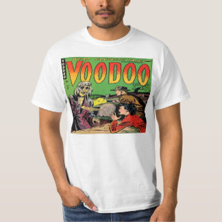 Voodoo Vintage Comic Book Cover T-Shirt