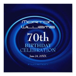 Vortex 70th Birthday Celebration Invitation