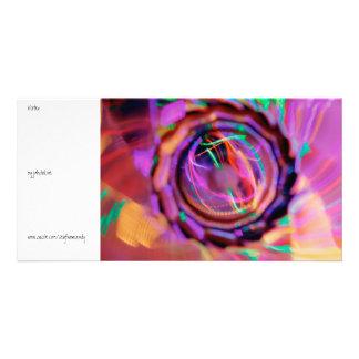 Vortex Custom Photo Card
