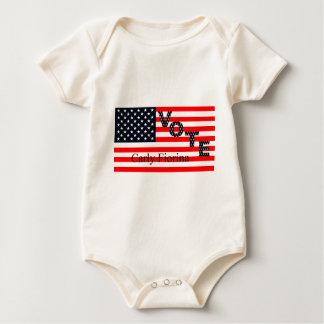 Vote Carly Fiorina for President 2016 Baby Bodysuit
