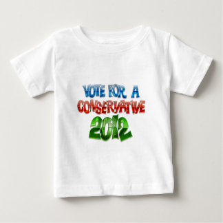 Vote For A Conservative Baby T-Shirt