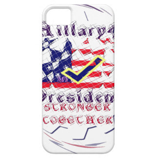 Vote for Hillary USA Stronger Together  My Preside iPhone 5 Cover