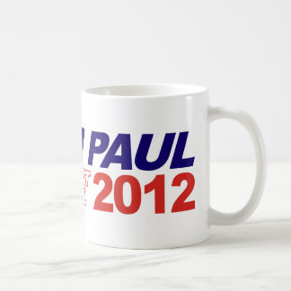 Vote For Ron Paul - 2012 election president Basic White Mug