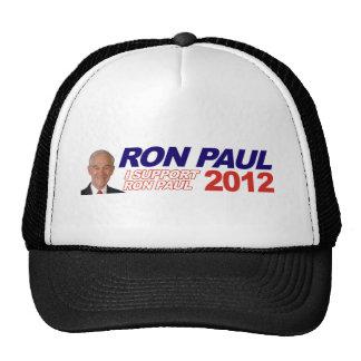 Vote For Ron Paul - 2012 election president Trucker Hat
