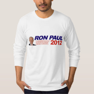 Vote For Ron Paul - 2012 election president T-Shirt