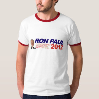 Vote For Ron Paul - 2012 election president T-shirts