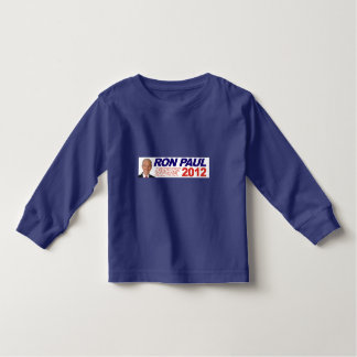Vote For Ron Paul - 2012 election president Toddler T-Shirt