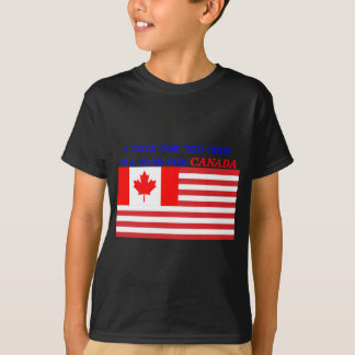 vote for ted cruz for canada TRANSPARENT.png T-Shirt