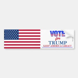 Vote for Trump Bumper Sticker