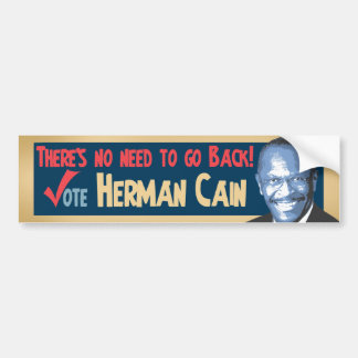 Vote Herman Cain for President Car Bumper Sticker
