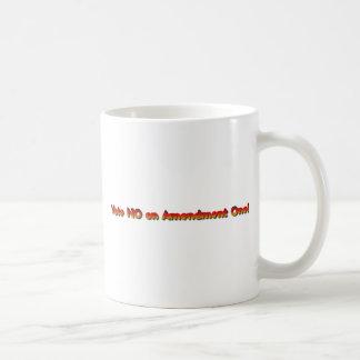 Vote No on Amendment One! Basic White Mug