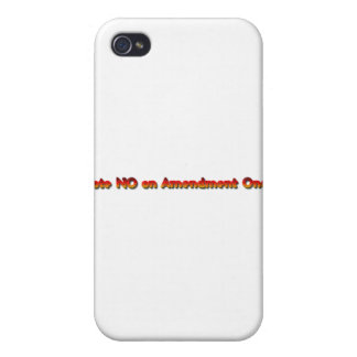 Vote No on Amendment One! Cover For iPhone 4