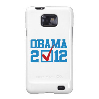 VOTE OBAMA 2012 BLUE GALAXY SII COVERS