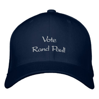Vote Rand Paul Custom Embroidered Hat