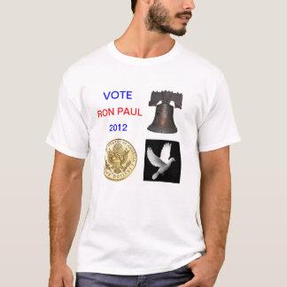 Vote Ron Paul 2012 T Shirt