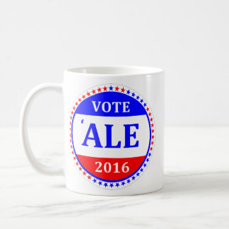VOTE RUM or VOTE ALE 2016 mug