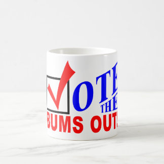 Vote the Bums Out! mug