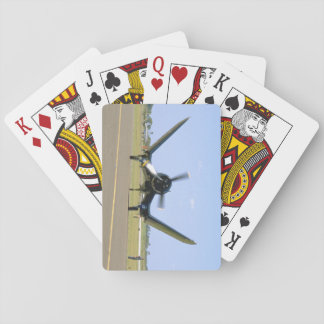 Vought F4U Corsair, Wings Unfolding_WWII Planes Playing Cards