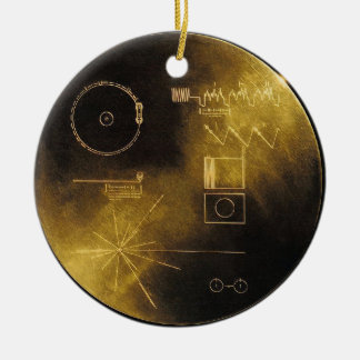 Voyager Golden Record Christmas Ornament