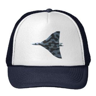 Vulcan bomber in flight cap