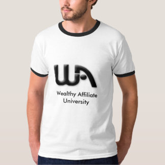 wa_logo, Wealthy Affiliate University Tees