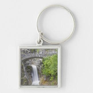 WA, Mount Rainier National Park, Christine Falls Key Ring