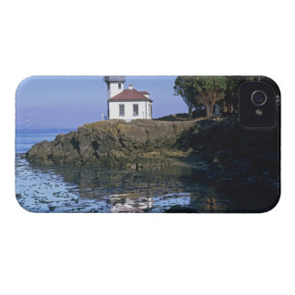 WA, San Juan Island, Lime Kiln lighthouse iPhone 4 Case