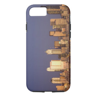WA, Seattle, Seattle skyline and Elliott Bay, iPhone 8/7 Case