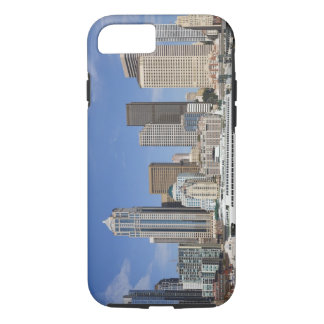 WA, Seattle, Seattle skyline with ferry boat iPhone 8/7 Case