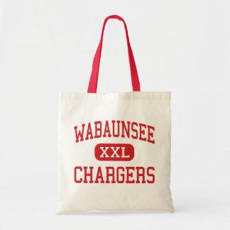 Wabaunsee - Chargers - Senior - Alma Kansas Tote Bag