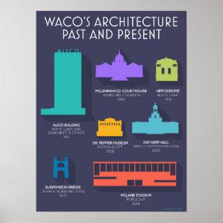 Waco Architecture Poster