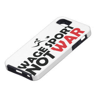 Wage Sport End War iPhone 5 Case - Vibe