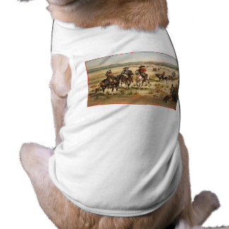 Wagon Train vintage painting Shirt