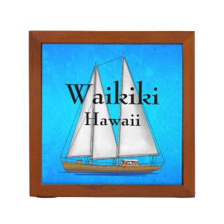 Waikiki Hawaii Desk Organiser