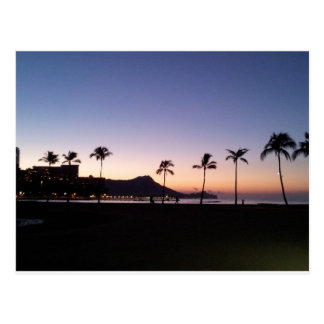 Waikiki Sunrise Postcard