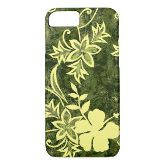 Waimanalo Hawaiian Hibiscus Batik iPhone 8/7 Case