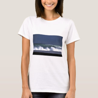 Wairarapa green surfing wave New Zealand T-Shirt