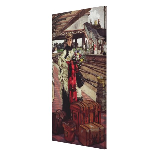Waiting at the Station Canvas Prints
