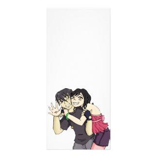 Wakaba and Arai Rack Card Design