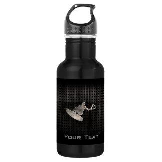 Wakeboarder; Cool Black 532 Ml Water Bottle
