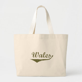 Wales Tote Bags