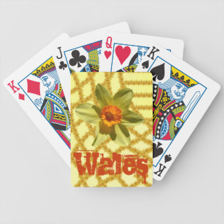 Wales - Daffodils - National Welsh flower Bicycle Playing Cards