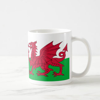 Wales flag coffee mug