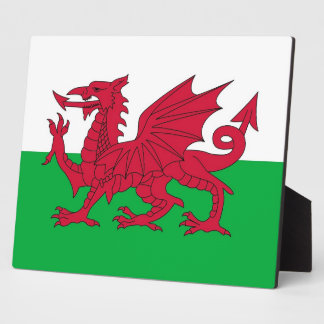 Wales Flag Plaque